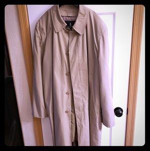 Men's LONDON FOG Khaki Trench Coat